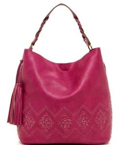 Isabella fiore   Leather Mary Hobo